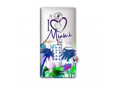 Coque Huawei Mate 8 I Love Miami
