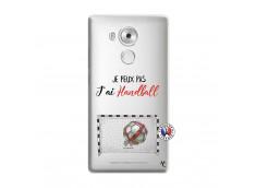 Coque Huawei Mate 8 Je peux pas j'ai Handball