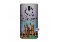 Coque Huawei Mate 9 I Love Barcelona
