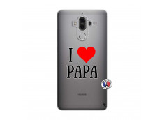 Coque Huawei Mate 9 I Love Papa