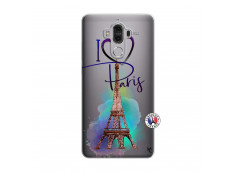Coque Huawei Mate 9 I Love Paris