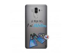 Coque Huawei Mate 9 Je Peux Pas J Ai Natation