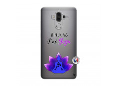 Coque Huawei Mate 9 Je Peux Pas J Ai Yoga