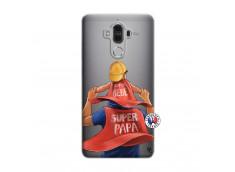 Coque Huawei Mate 9 Super Papa et Super Bébé