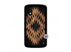 Coque Lg Nexus 4 Aztec One Motiv Noir