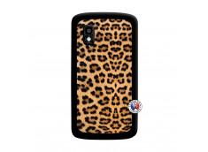 Coque Lg Nexus 4 Leopard Style Noir