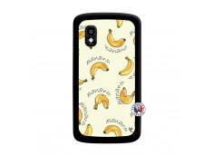 Coque Lg Nexus 4 Sorbet Banana Split Noir