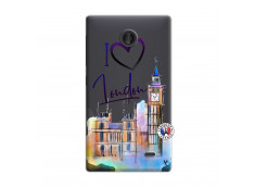 Coque Microsoft Nokia X I Love London