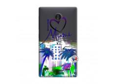 Coque Microsoft Nokia X I Love Miami