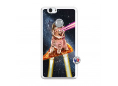 Coque Huawei Nova Cat Pizza Translu