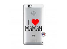 Coque Huawei Nova I Love Maman