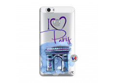 Coque Huawei Nova I Love Paris Arc Triomphe