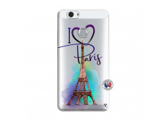 Coque Huawei Nova I Love Paris