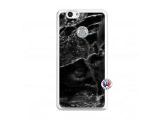 Coque Huawei Nova Black Marble Translu