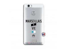 Coque Huawei Nova Marseillais à Vie