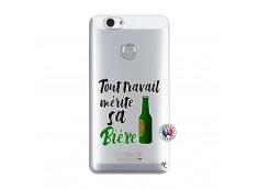 Coque Huawei Nova Tout Travail Merite Sa Biere