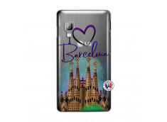 Coque Lg Optimus L5 I Love Barcelona