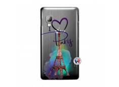 Coque Lg Optimus L5 I Love Paris