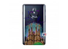 Coque Lg Optimus L7 I Love Barcelona