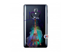 Coque Lg Optimus L7 I Love Paris