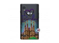 Coque Lg Optimus L9 I Love Barcelona