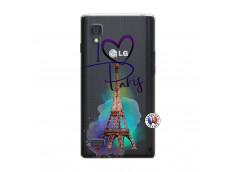 Coque Lg Optimus L9 I Love Paris