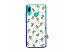 Coque Huawei P Smart 2019 Le Monde Entier est un Cactus Translu