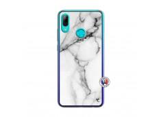 Coque Huawei P Smart 2019 White Marble Translu