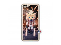 Coque Huawei P Smart Cat Nasa Translu