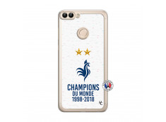 Coque Huawei P Smart Champion Du Monde Translu