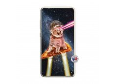 Coque Huawei P10 Lite Cat Pizza Translu