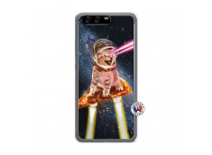 Coque Huawei P10 Cat Pizza Translu