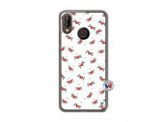 Coque Huawei P20 Lite Cartoon Heart Translu