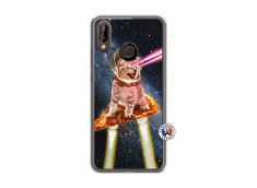Coque Huawei P20 Lite Cat Pizza Translu