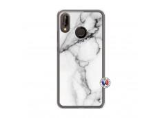 Coque Huawei P20 Lite White Marble Translu