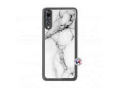 Coque Huawei P20 PRO White Marble Translu