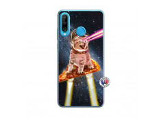 Coque Huawei P30 Lite Cat Pizza Translu