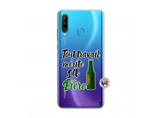 Coque Huawei P30 Lite Tout Travail Merite Sa Biere