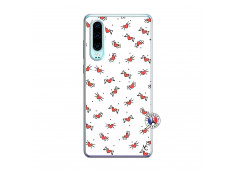 Coque Huawei P30 Cartoon Heart Translu