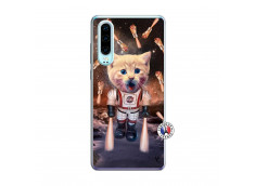 Coque Huawei P30 Cat Nasa Translu