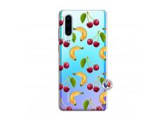 Coque Huawei P30 Hey Cherry, j'ai la Banane
