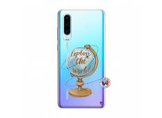 Coque Huawei P30 Globe Trotter