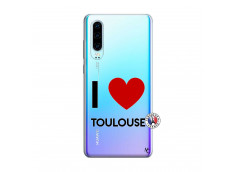 Coque Huawei P30 I Love Toulouse