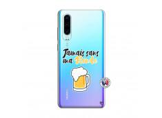 Coque Huawei P30 Jamais Sans Ma Blonde