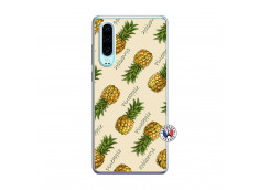 Coque Huawei P30 Sorbet Ananas Translu