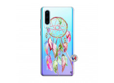 Coque Huawei P30 Pink Painted Dreamcatcher