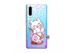 Coque Huawei P30 Smoothie Cat