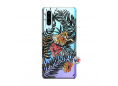 Coque Huawei P30 Leopard Tree