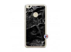 Coque Huawei P8 Lite 2017 Black Marble Translu
