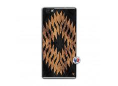 Coque Huawei P8 Lite Aztec One Motiv Translu